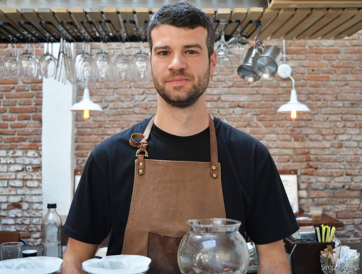 Σπανός Κωνσταντίνος barista