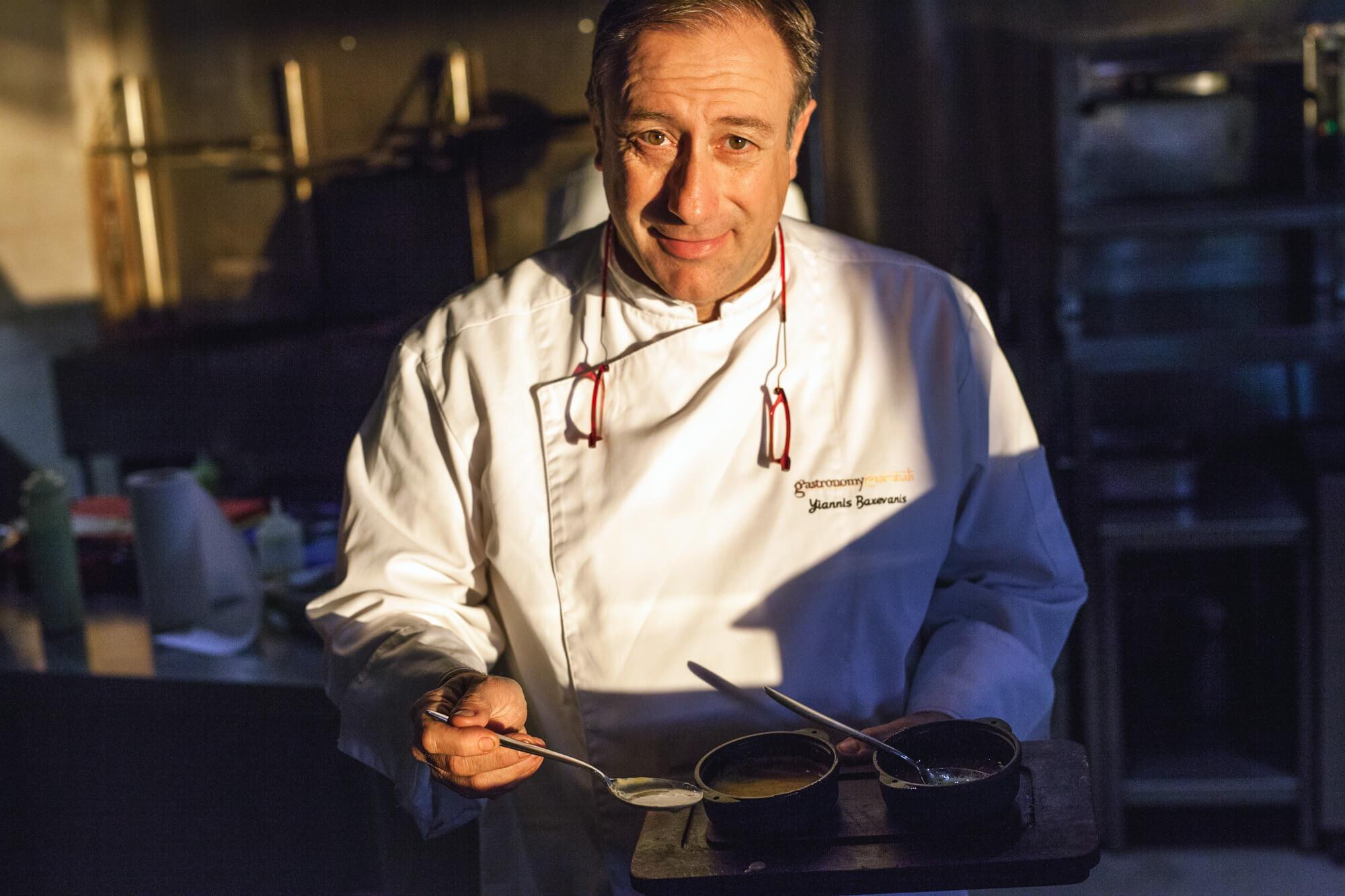 Μπαξεβάνης Γιάννης - Ο chef που έκανε γνωστή την κουζίνα των ... e21ef6c5efb