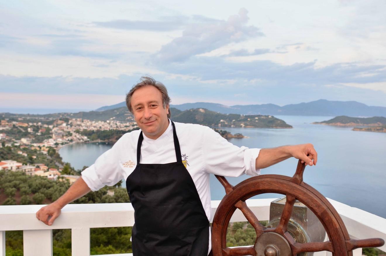 Μπαξεβάνης Γιάννης - Ο chef που έκανε γνωστή την κουζίνα των αρωμάτων  dcc932bbd70
