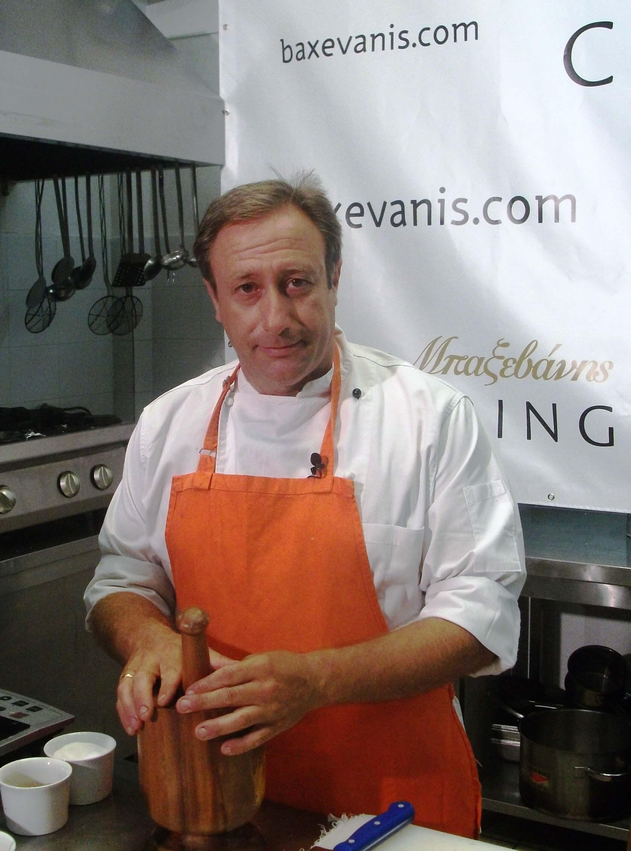 Μπαξεβάνης Γιάννης chef