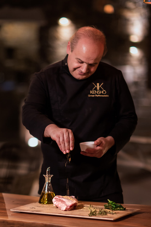 Stilianoudakis Giorgos Chef